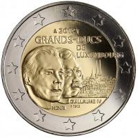 """Luxembourg 2012 Grand Duke Henri and Grand Duke Guillaume IV – """"grand-ducal dynasty"""" series"""