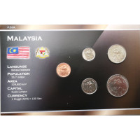 Malaysia 2005-2011 year blister coin set