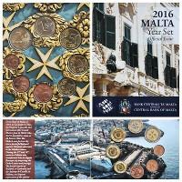 Malta 2016 Euro coins BU set
