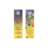 Malta 2016 Love coin card