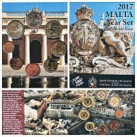 Malta 2017 Euro coins BU set