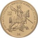 Malta 2021 50 euro 550th Anniversary of the Birth of Albrecht Dürer