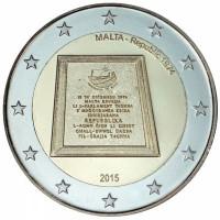 Malta 2015 Proclamation Republic