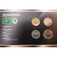 Mauritania 2009-2010 year blister coin set