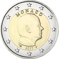Monaco 2017 2 euro
