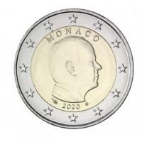 Monaco 2020 2 euro