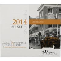 Nederland 2014 Euro coins BU set ORG
