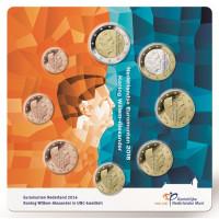 Netherland 2016 Euro coins BU set