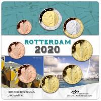 Netherlands 2020 Euro coins UNC set