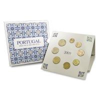 Portugal 2009 Euro coins BU set