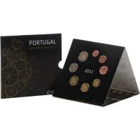 Portugal 2011 Euro coins BU set