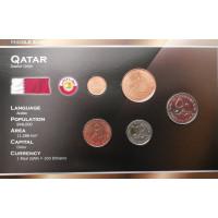 Qatar 2002-2006 year blister coin set