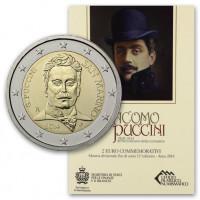 San Marino 2014 90th anniversary of the death of Giacomo Puccini