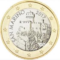 San Marino 2017 1 euro