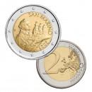 San Marino 2021 2 euro regular coin