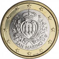 San Marino 2013 1 euro