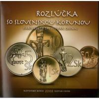 Slovakia 2008 BU set Farewell to the Slovak crown