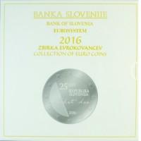 Slovenia 2016 euro coin BU set