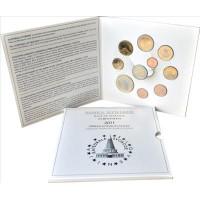 Slovenia 2011 Euro coins BU Set