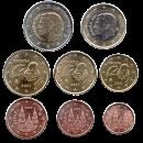 Spain 2021 Euro coins UNC set
