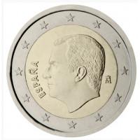 Spain 2021 2 euro regular coin