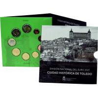 Spain 2021 Euro Coins BU Set