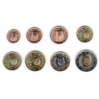 Spain 2003 Euro coins UNC set