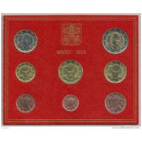 Vatican city 2015 Euro coins BU set Pope Francis