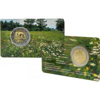 Latvia 2016 Cow coincard
