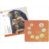 San Marino 2016 Euro coins BU set