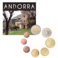 Andorra 2019 Euro coins BU set