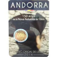 Andorra 2016 150 years of the New Reform 1866