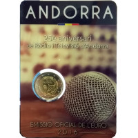 Andorra 2016 25th anniversary of the Radio and Television of Andorra
