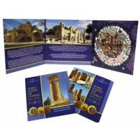 Cyprus 2015 Euro coins BU set