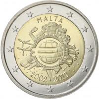 Malta 2012 Ten years of the Euro