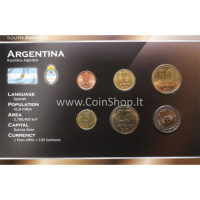 Argentina 2000-2009 year blister coin set