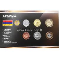 Armenia 2003-2004 year blister coin set
