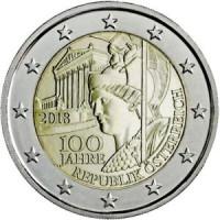 Austria 2018 100th anniversary of Austrian Republic