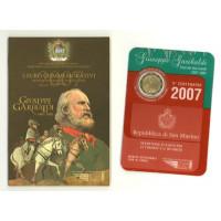 San Marino 2007 Bicentenary of the birth of Giuseppe Garibaldi