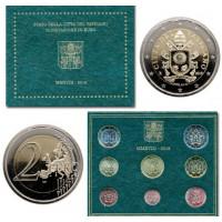 Vatican city 2018 Euro coins BU set Sede Vacante