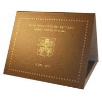 Vatican City 2011 Euro coins BU Set Pope Benedict XVI