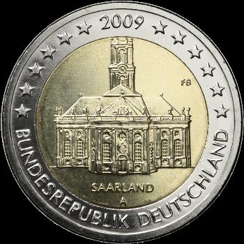 Germany 2009 Federal state of Saarland (random letter)